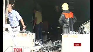 У Сумах в офісі партії «Свободи» прогримів вибух - (видео)