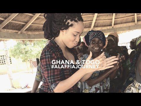 Ghana & Togo the #AlaffiaJourney thru Fair Trade Shea Butter
