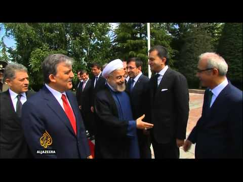 Iran's Rouhani in Turkey to boost trade ties