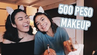 500 Peso Makeup Challenge w/ Frankie