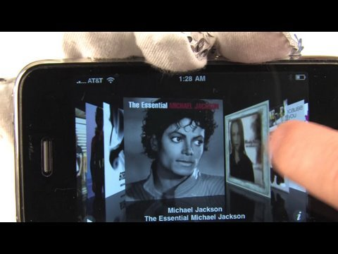 Michael Jackson iPhone