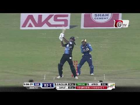Chris Gayle's Unbeaten 146 against Dhaka Dynamites   Final Match   BPL 2017