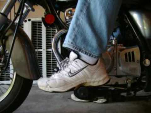 Gear Shifting on a Motorcycle Shifting Gears