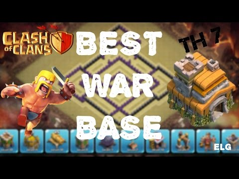 Clash of Clans - Best Trophy/War Base - Town Hall 7 - Best Defensive Base EVER!
