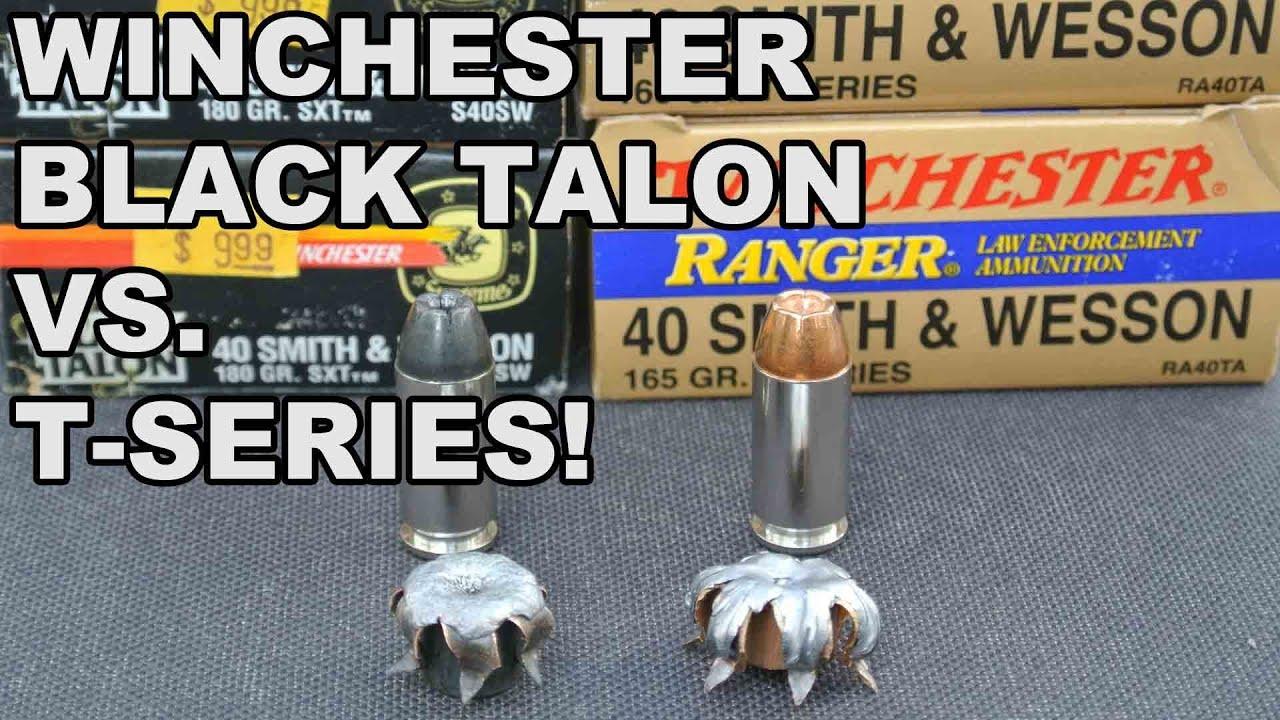 Winchester Black Talon 9mm Winchester Black Talon vs