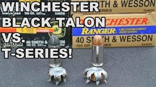 Winchester Black Talon vs. T-Series! 1992 Bullet Tech Compared to Today