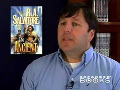 Interview with R. A. Salvatore about his book, The Ancient