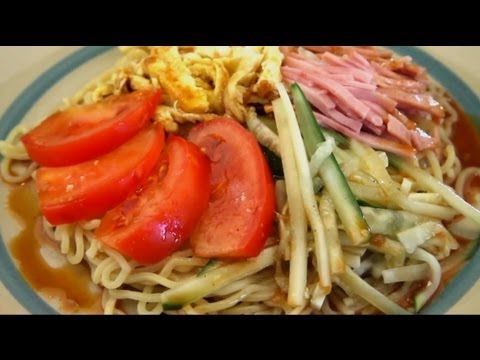 Great Summer Meal! How To Make Hiyashi Chyuka Ramen