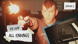 ALL ENDINGS & how to get them | Life Is Strange 2 | Episode 3