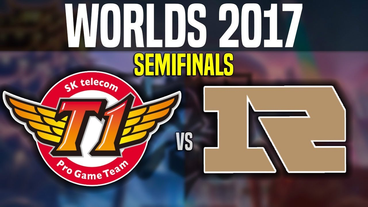 SKT vs RNG - Game 1 - Worlds 2017 Semifinals - SKT T1 vs Royal Never Give Up G1 | Worlds 2017