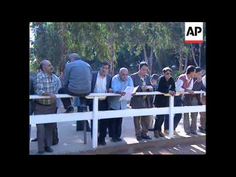 LEBANON: BEIRUT HORSE RACE COURSE REOPENS