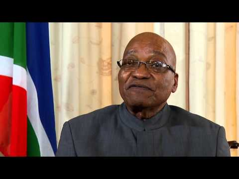 President Jacob Zuma announces 2014 election date