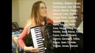 The Accordion Man Waltz played by Accordiona