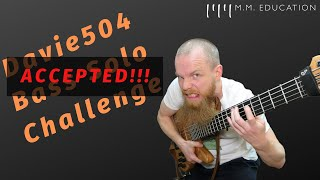 Davie504 Bass Solo Competition - Strictly Bass