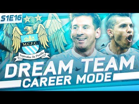 EPIC CHAMPIONS LEAGUE SEMI-FINALS! | FIFA 16: Man City Dream Team Career Mode - S1E16