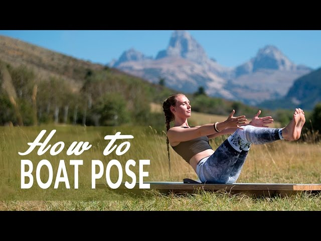 A YogaToday Quick Tip With Mona Godfrey: Navasana