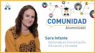 Comunidad AlumniUAH · Sara Infante