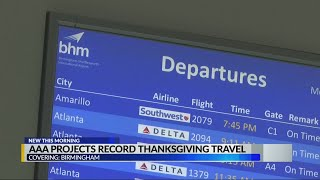 AAA predicts busiest Thanksgiving travel season since 2005