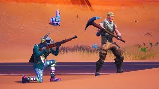 10 Minutes of Trolling Noobs in Fortnite