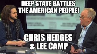 Lee Camp and Redacted Tonight VIP with Chris Hedges & Writer for The Daily Show J.R. Havlan!