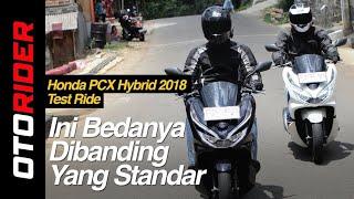Honda PCX Hybrid 2018 Test Ride Review Indonesia | OtoRider