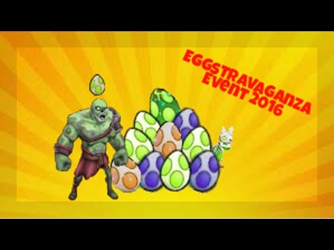 Dropimy jajka / Nekro drop / Eggstravaganza Event 2016 / Arcane Legends