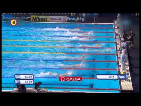 Ranomi Kromowidjojo pakt brons op 100 meter vrije slag tijdens WK zwemmen in Barcelona
