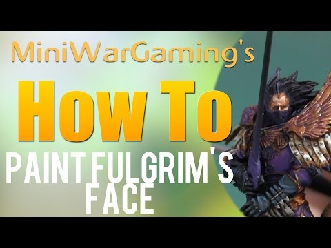 How To: Paint Fulgrim's Face