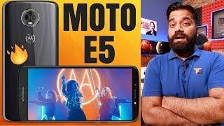 Motorola Moto E5 Plus, Moto E5 and Moto E5 Play Launched - My Opinions