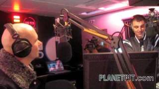 Pitbull in London, England @ the Tim Westwood Show!!  International Takeover!!
