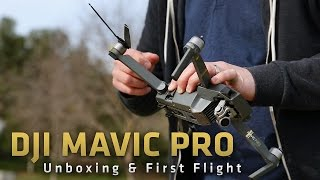 DJI Mavic Pro Unboxing and First Flight: From Where I Drone with Dirk Dallas