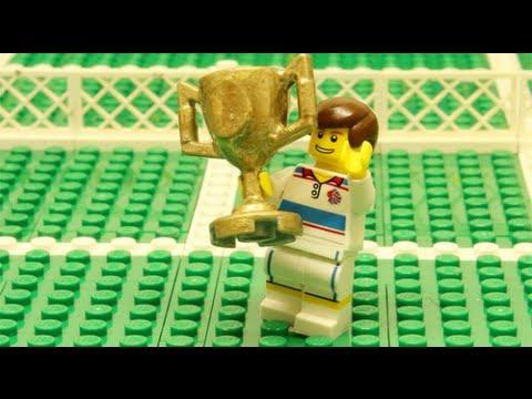 Andy Murray wins Wimbledon final 2013 - Brick by Brick