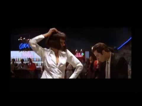dancing(john travolta with uma thurman ...pulp fiction movie)