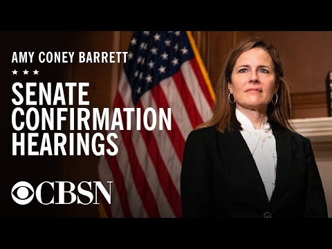 Amy Coney Barrett's Supreme Court confirmation hearing, day 1