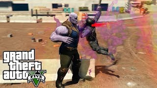 Thanos endgame en gta 5 mods | Nuevos poderes del guantelete