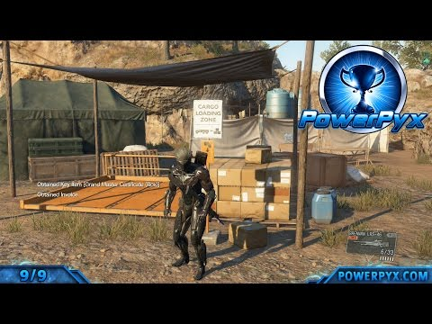 Metal Gear Solid V: The Phantom Pain - All Invoice Locations Africa (Fast Travel Points)