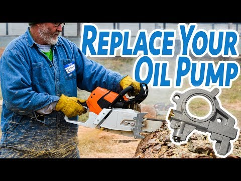 Chainsaw Not Pumping Oil? Learn How to Fix it...