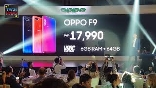 OPPO F9 Price in the Philippines, Announced