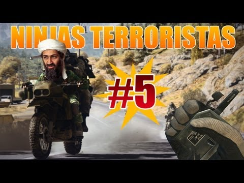 Battlefield 3 - Ninjas Terroristas #5