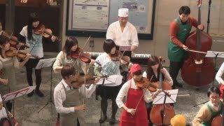 JR上野駅構内でオーケストラ 東京 春 音楽祭