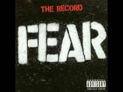 Fear - No More Nothing