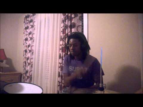 Naughty Boy- La La La- ft. Sam Smith- Drum Cover- D'Andre Hall