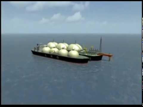 BHP-Billiton LNG News B-Roll 2007