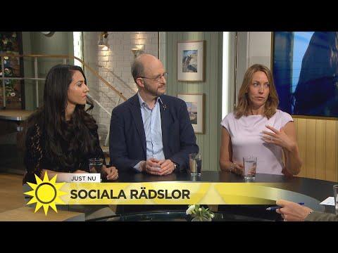 Sociala rädslor – stor press att jobba på sitt varumärke - Nyhetsmorgon (TV4)