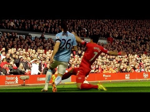 Luis Suarez vs Manchester City (Home) HD 720p (13/04/2014)