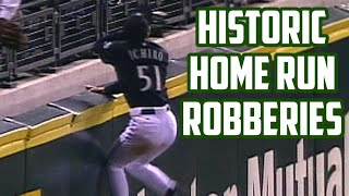 MLB | Best Robberies Ever