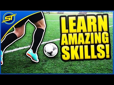 Learn Amazing Football Skills Tutorial ★ Hd - Ronaldo messi neymar Skills! video