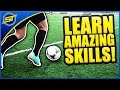 Learn Amazing Football Skills Tutorial ★ HD   Neymar Skills/Ronaldo/Messi Skills