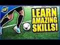 Learn Amazing Football Skills Tutorial ★ HD - Ronaldo/Messi/Neymar Skills!