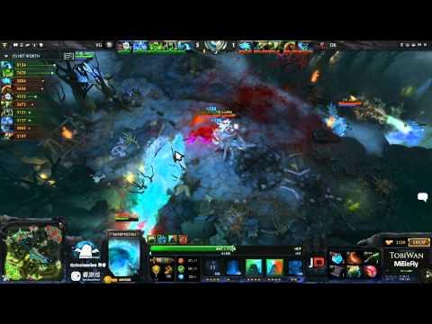 DK vs Vici Gaming Game 2 - SinaCup China Dota 2 Grand Final - TobiWan & MiSeRy